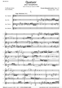 Quartet, Opus 13