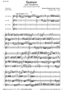 Quartet, Opus 8